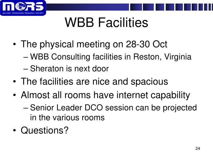 WBB Facilities