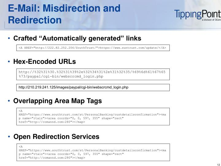 E-Mail: Misdirection and Redirection