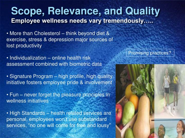 Scope, Relevance, and Quality