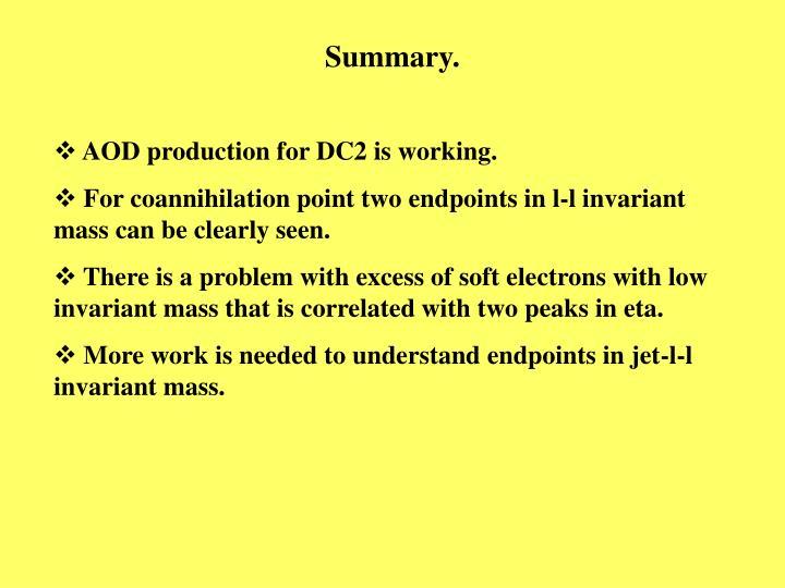 Summary.