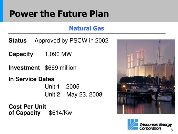 Power the Future Plan