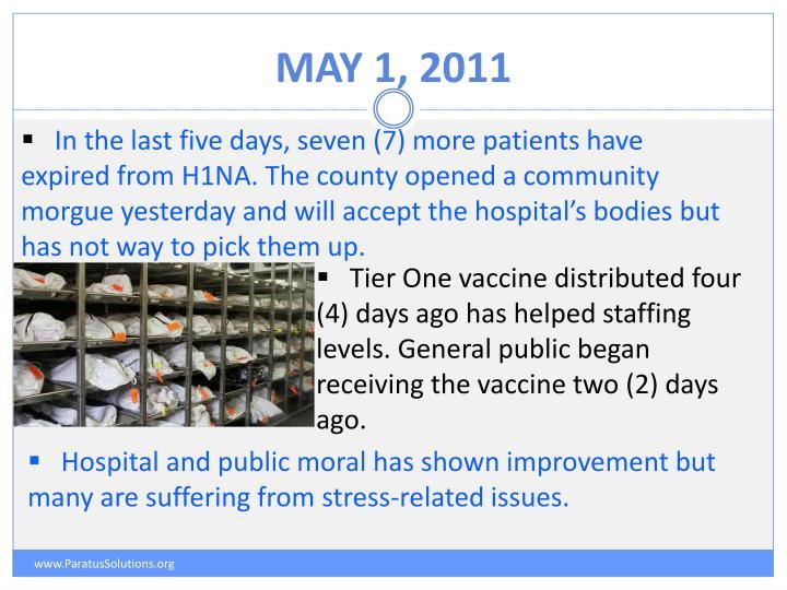 May 1, 2011