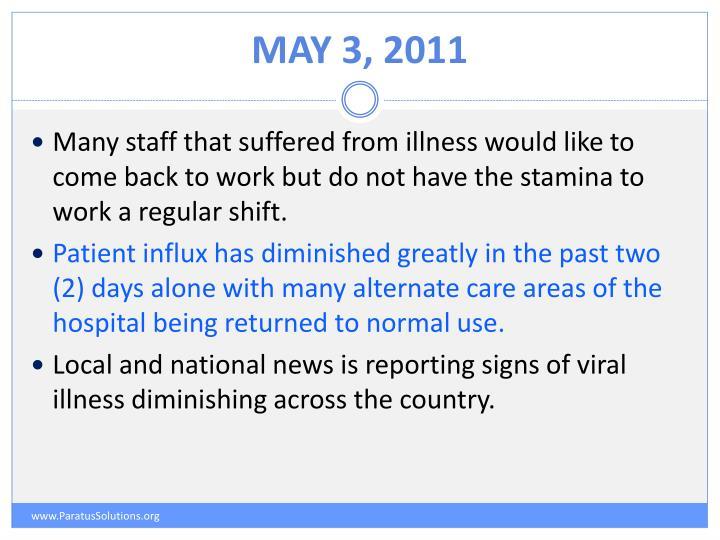 May 3, 2011