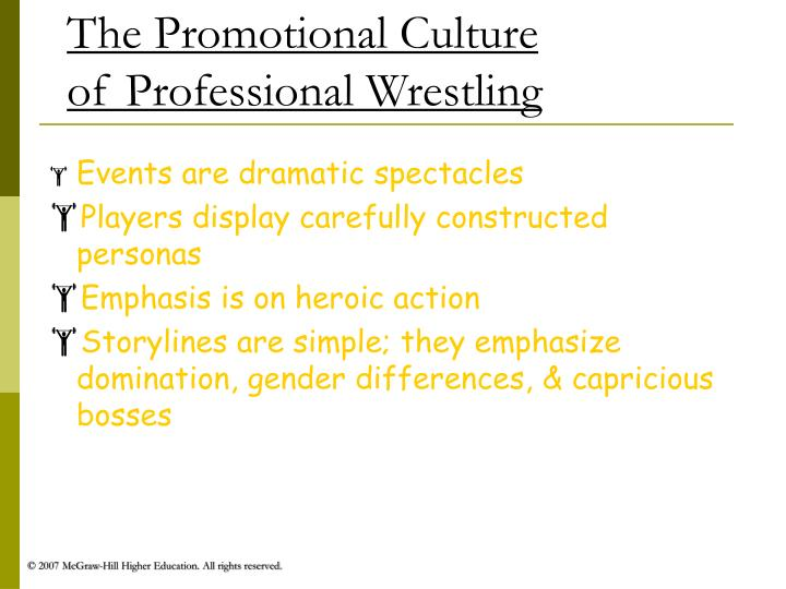 The Promotional Culture