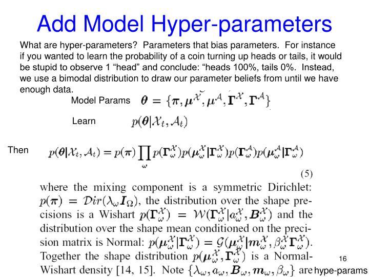 Add Model Hyper-parameters