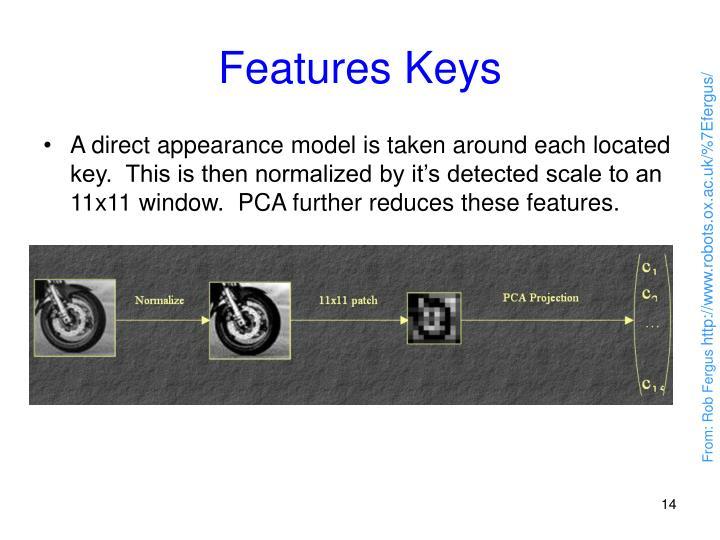 Features Keys