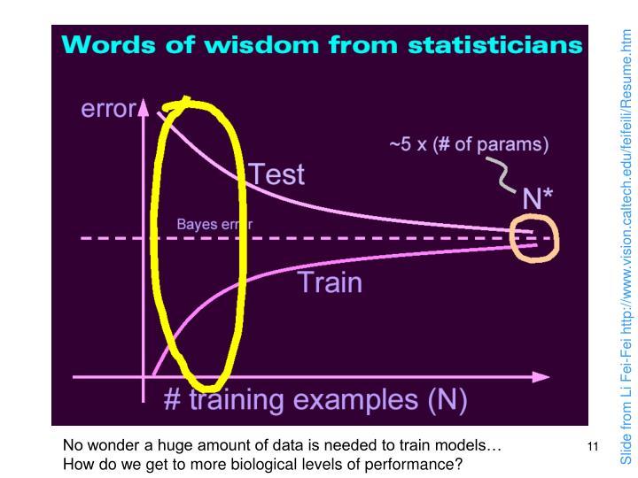 Slide from Li Fei-Fei http://www.vision.caltech.edu/feifeili/Resume.htm