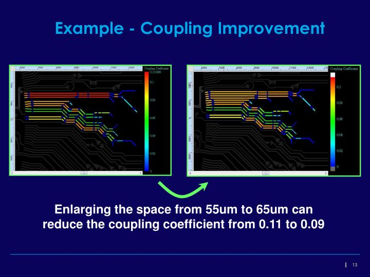 Example - Coupling Improvement