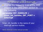 peripheral with interrupt1