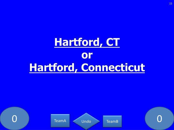 Hartford, CT