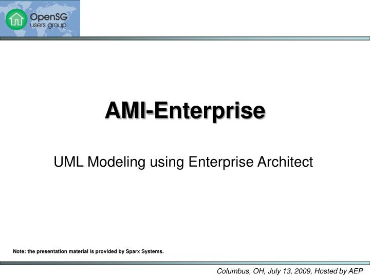Ami enterprise