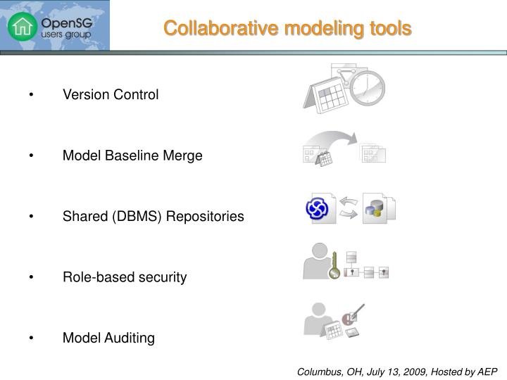 Collaborative modeling tools