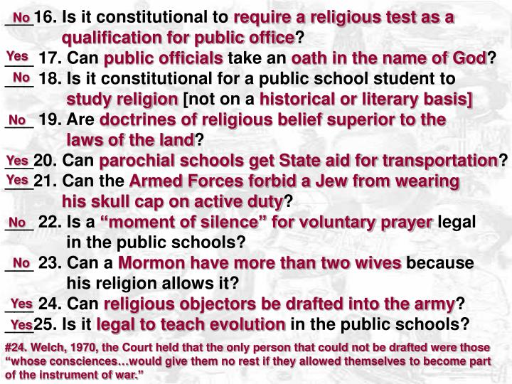 ___16. Is it constitutional to