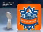 2012 super bowl ads expected to wow viewers