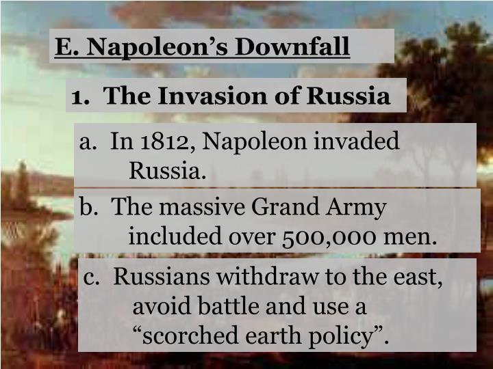 E. Napoleon's Downfall