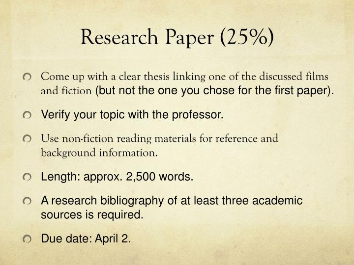 Research paper 25