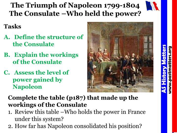 The Triumph of Napoleon 1799-1804