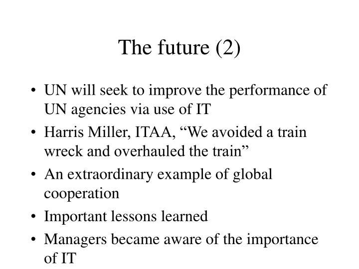 The future (2)