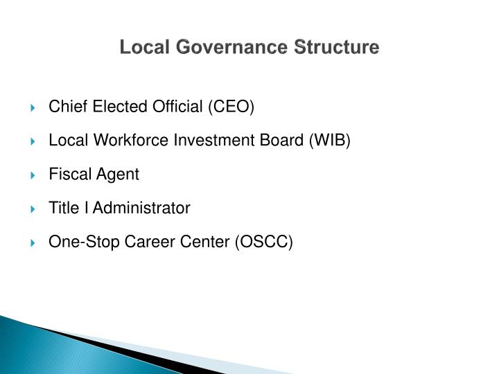 Local Governance Structure