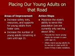 placing our young adults on that road1