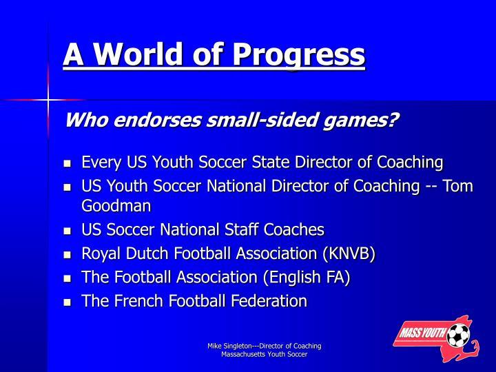 A World of Progress