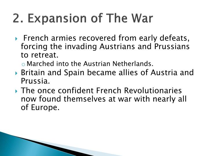 2. Expansion of The War