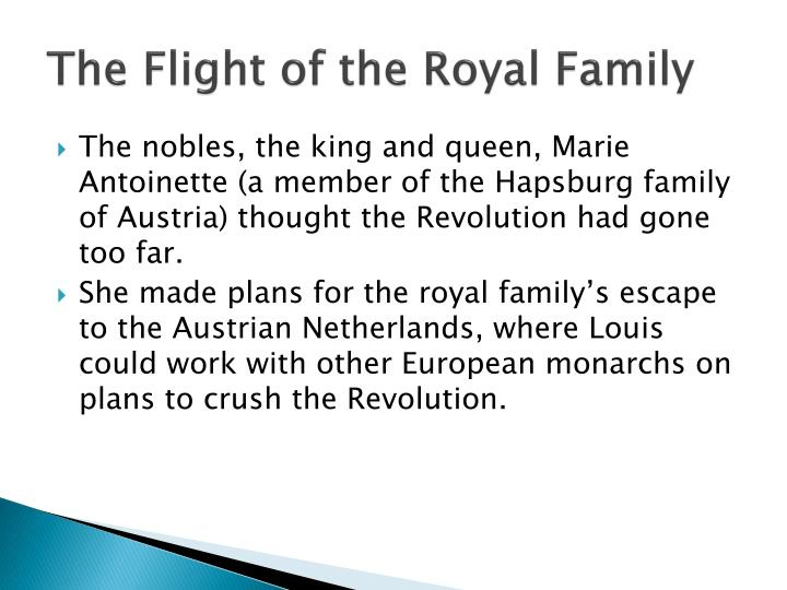 The Flight of the Royal Family
