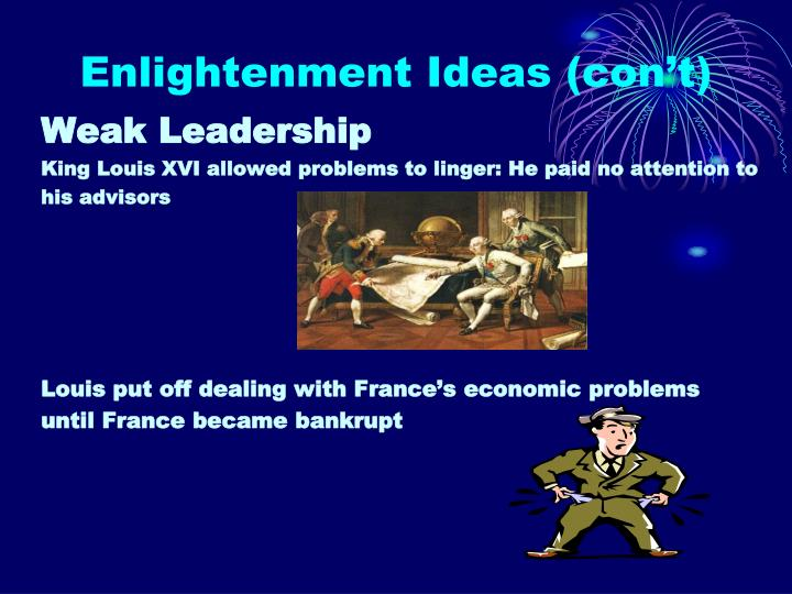 Enlightenment Ideas (con't)