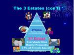 the 3 estates con t