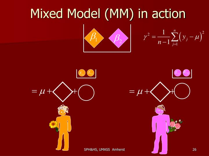 Mixed Model (MM) in action