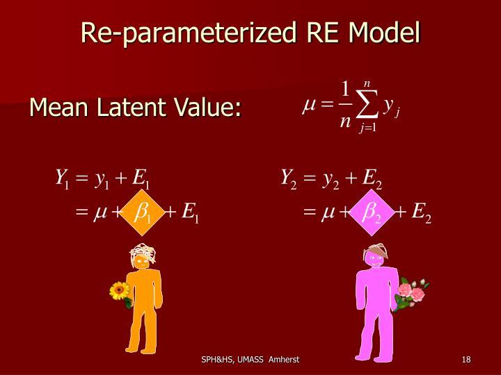 Re-parameterized RE Model
