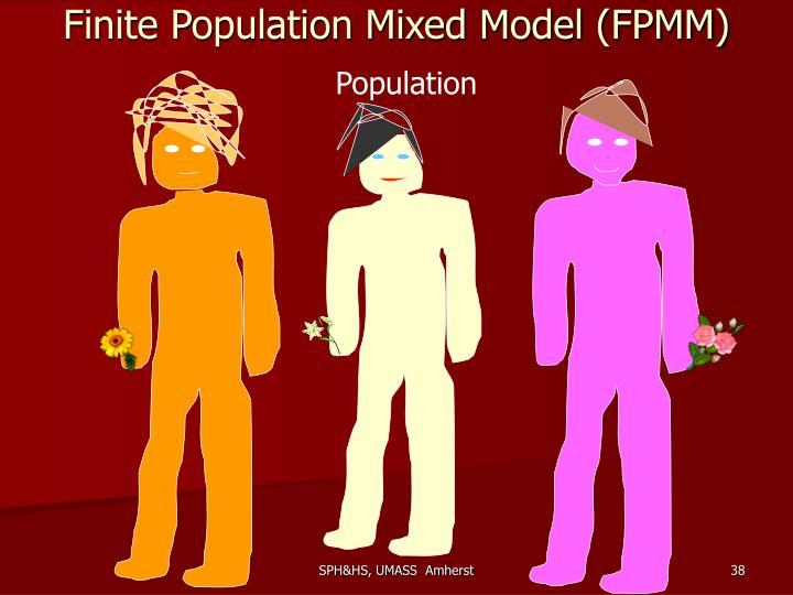 Finite Population Mixed Model (FPMM)