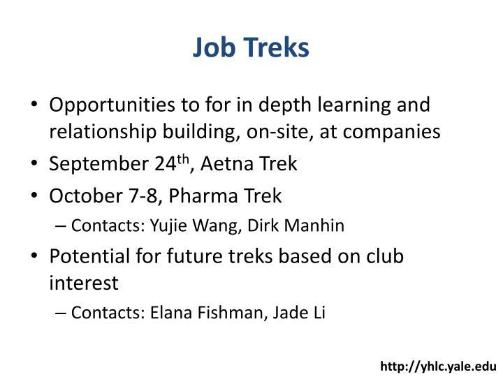 Job Treks