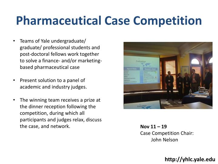 Pharmaceutical Case Competition