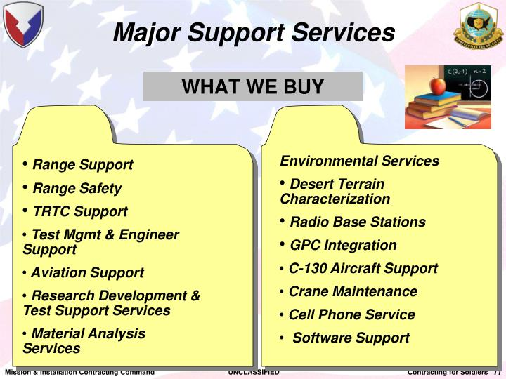 Major Support Services