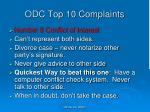 odc top 10 complaints4