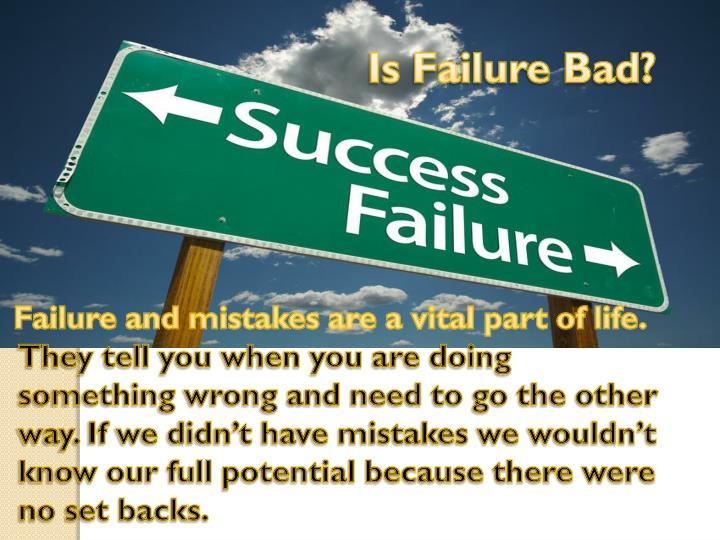 Is Failure