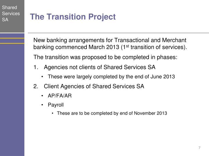 The Transition Project
