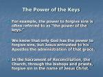 the power of the keys