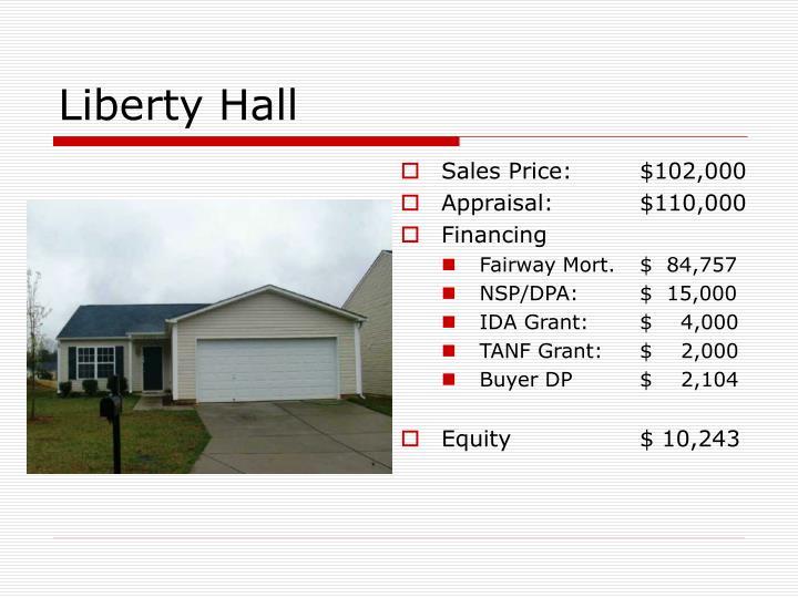 Sales Price:$102,000