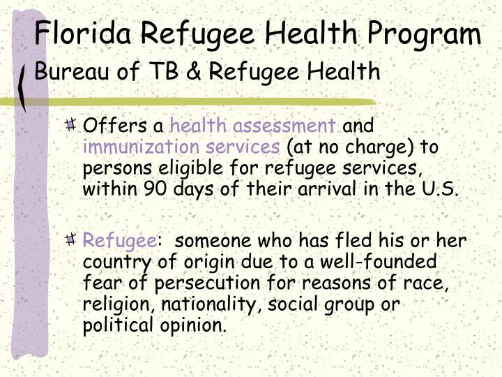 Florida Refugee Health Program
