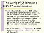 the world of children at a glance1