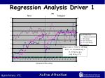 regression analysis driver 1
