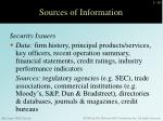 sources of information2