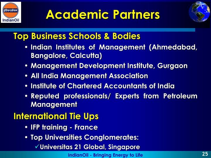 Top Business Schools & Bodies