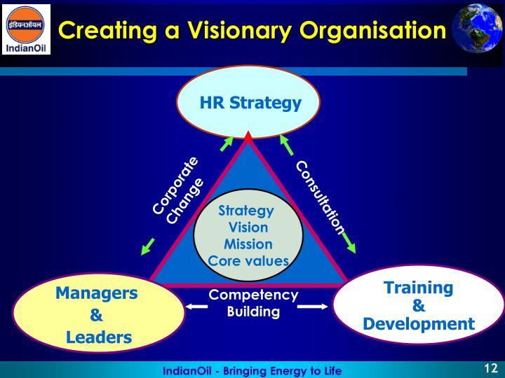 Creating a Visionary Organisation