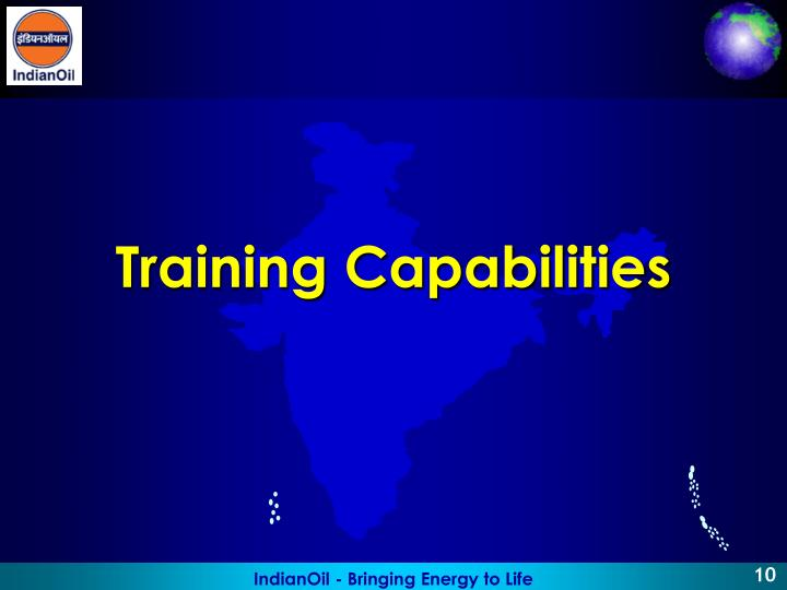 Training Capabilities