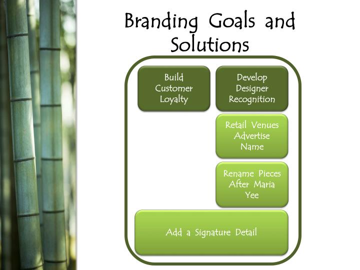 Branding  Goals  and  Solutions