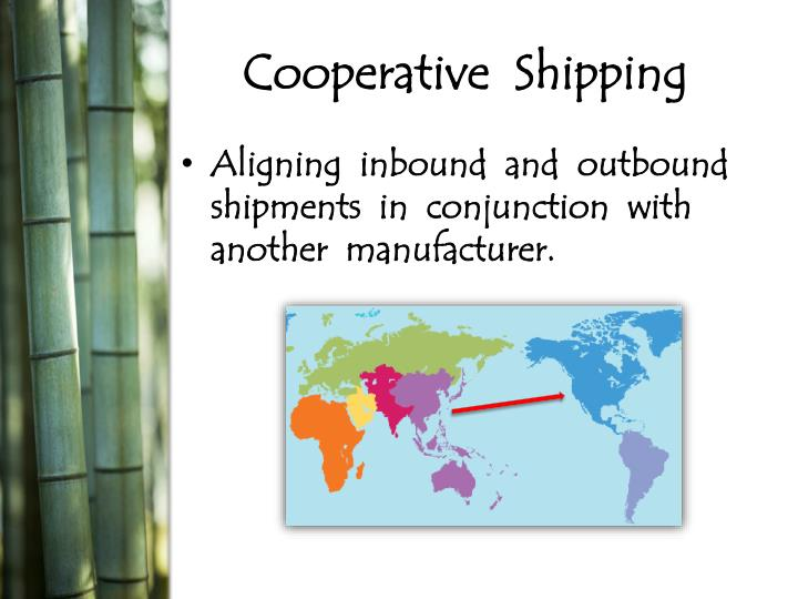 Cooperative  Shipping