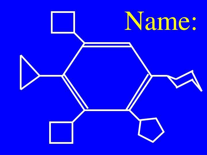Name: